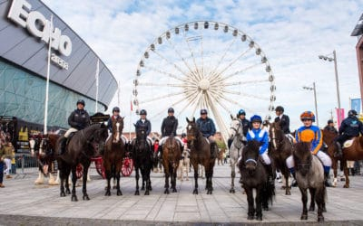 Liverpool's International Horse Show – Ride into Liverpool