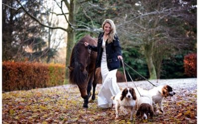 Winter Equine Photo Shoot at Melmerby Hall