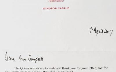 A letter from Windsor Castle