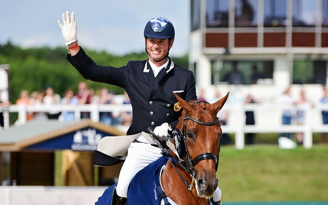 Carl Hester and Barolo take the opening Grand Prix at Bolesworth, Cheshire