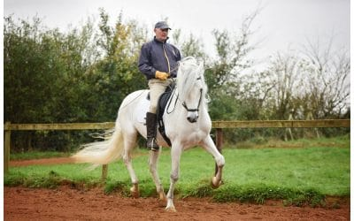 Catching up with Classical Dressage rider Peter Maddison-Greenwell