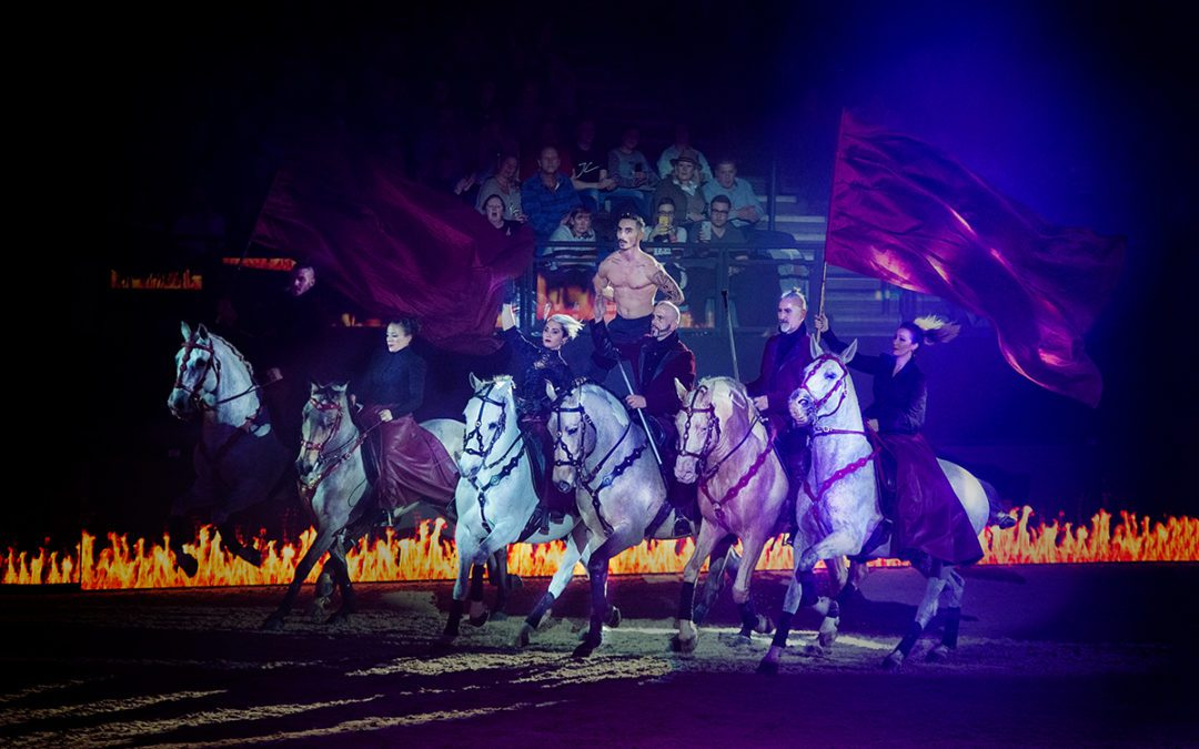 Amazing opening night at The TheraPlateUK Liverpool International Horse Show!