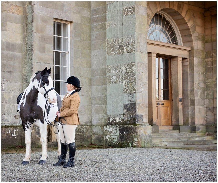 Scottish, equine photoshoot