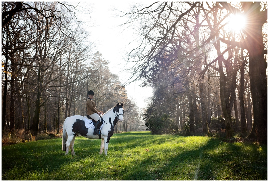 Country house equine photoshoot