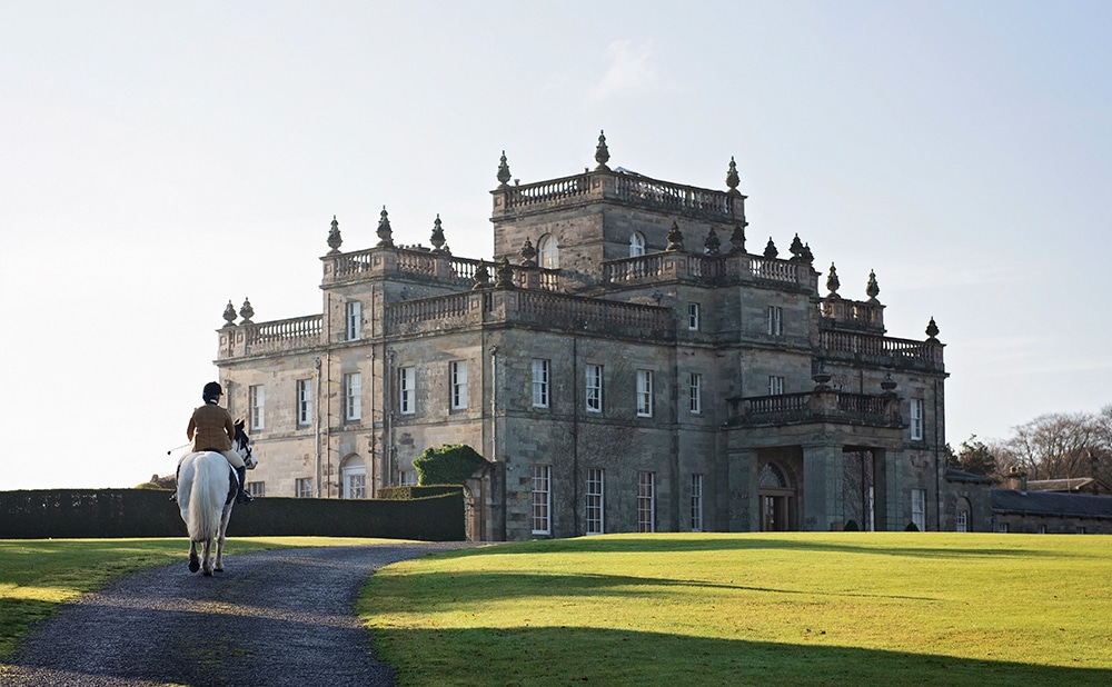 Scottish stately home - perfect location for an equine photoshoot