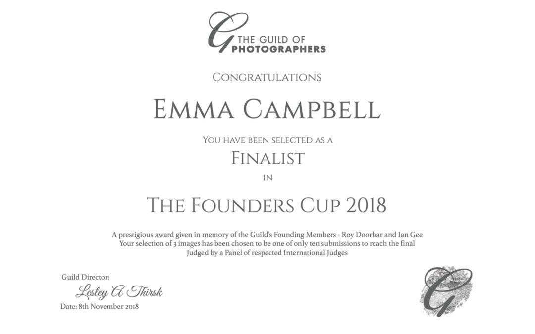 UK Top ten Finalist in the Founder's Cup