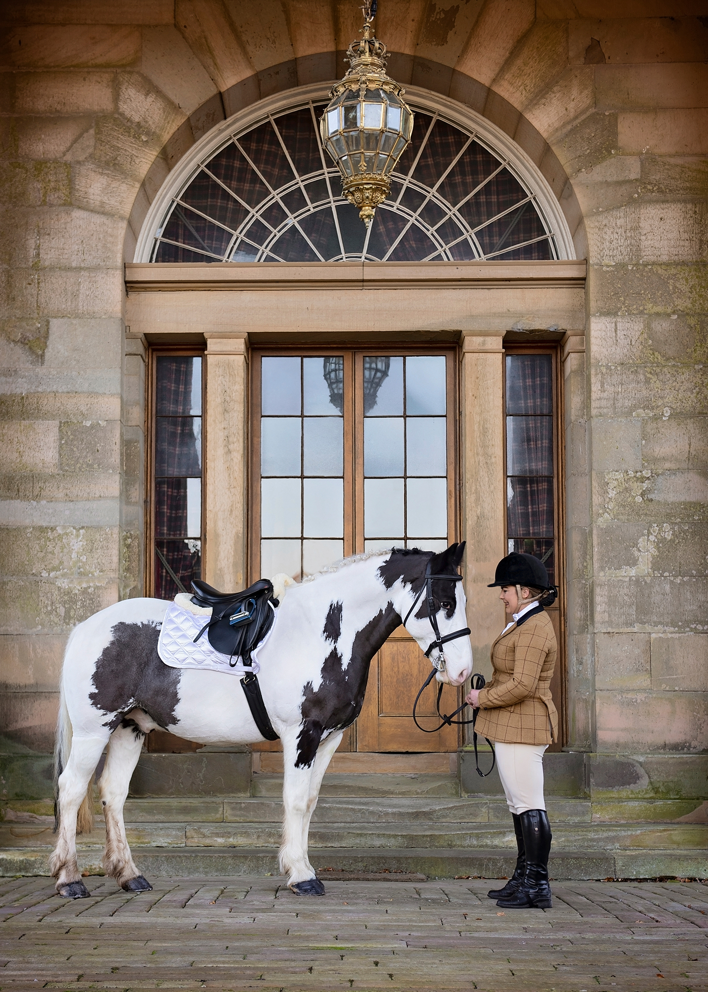 A scottish estate - perfect for an equestrian photoshoot