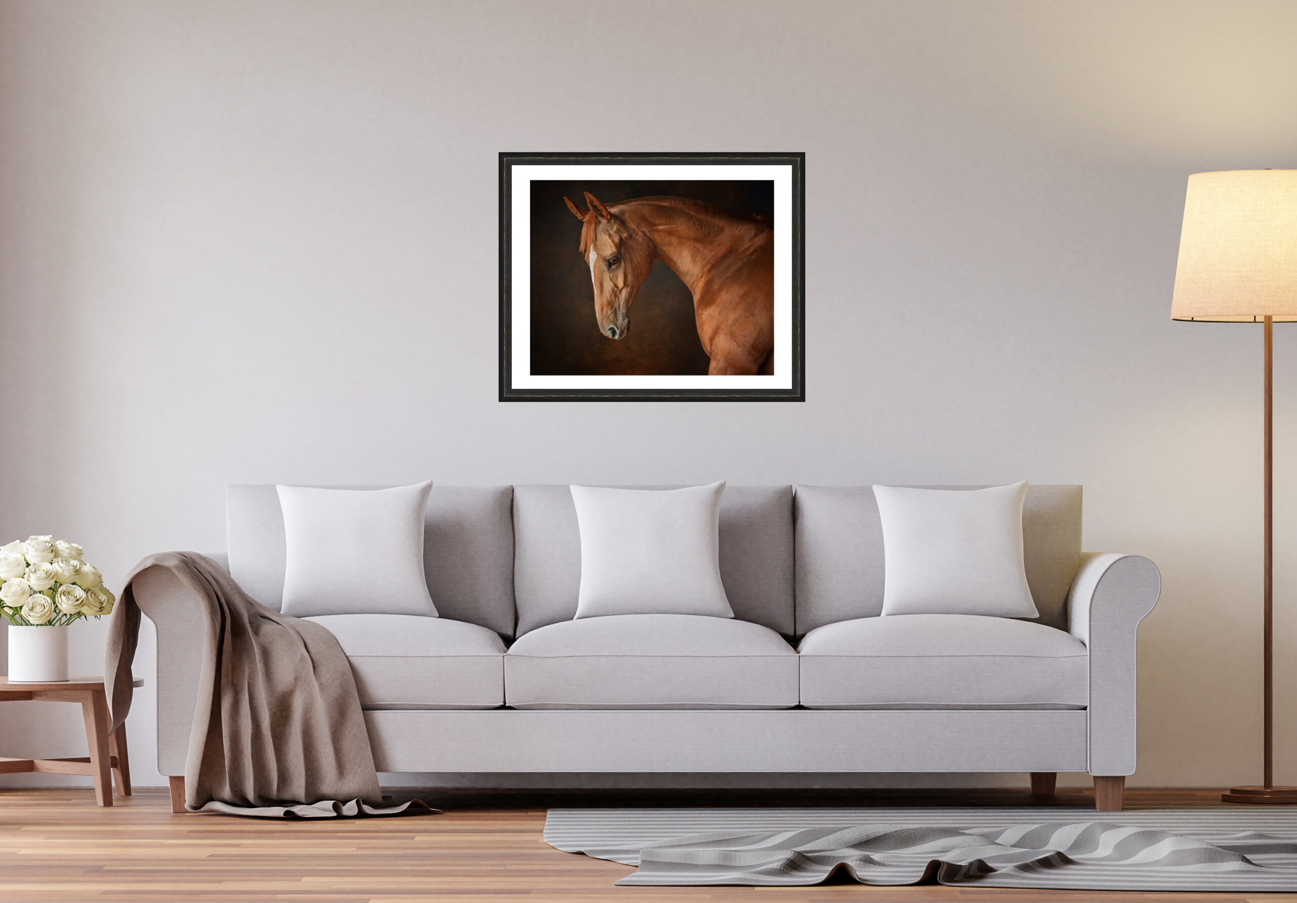 Beautiful equestrian portraits for your home