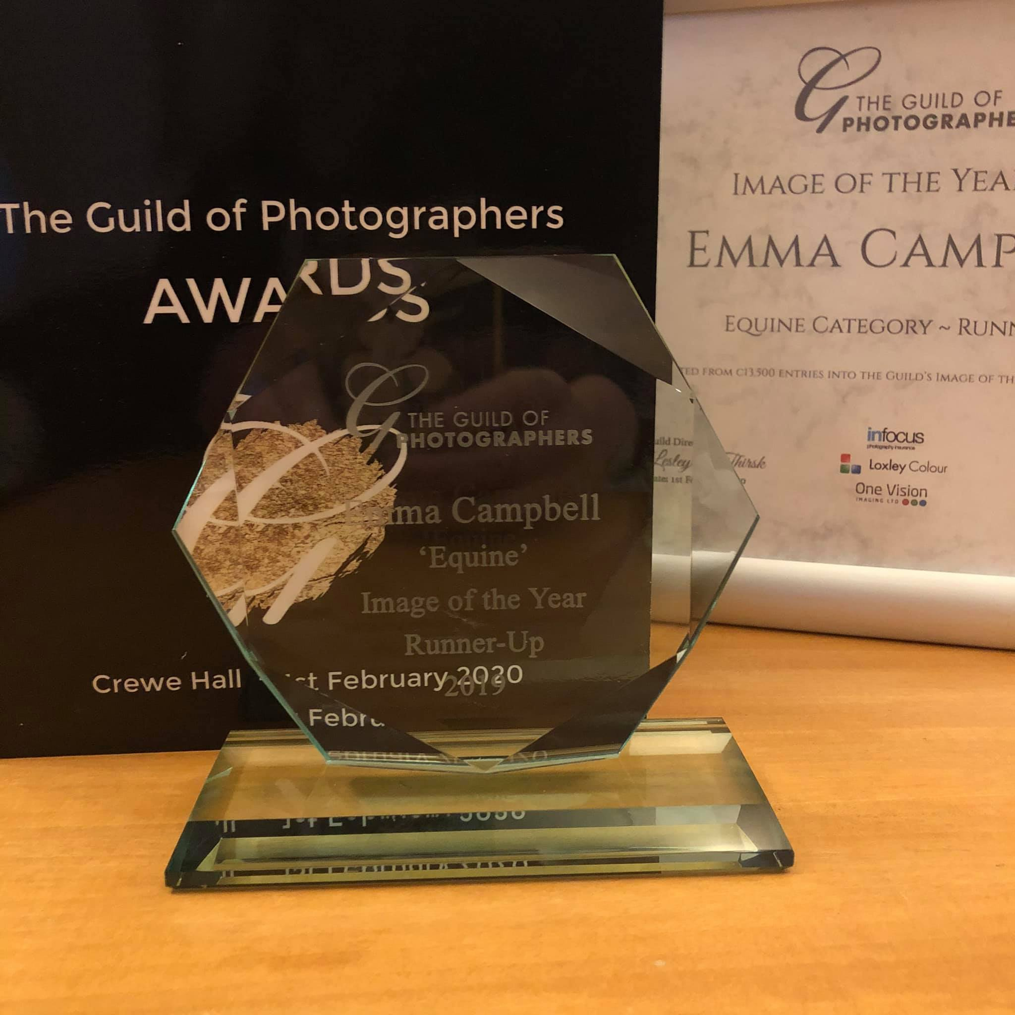 Award Runner up Emma Campbell - equestrian photograph of the year