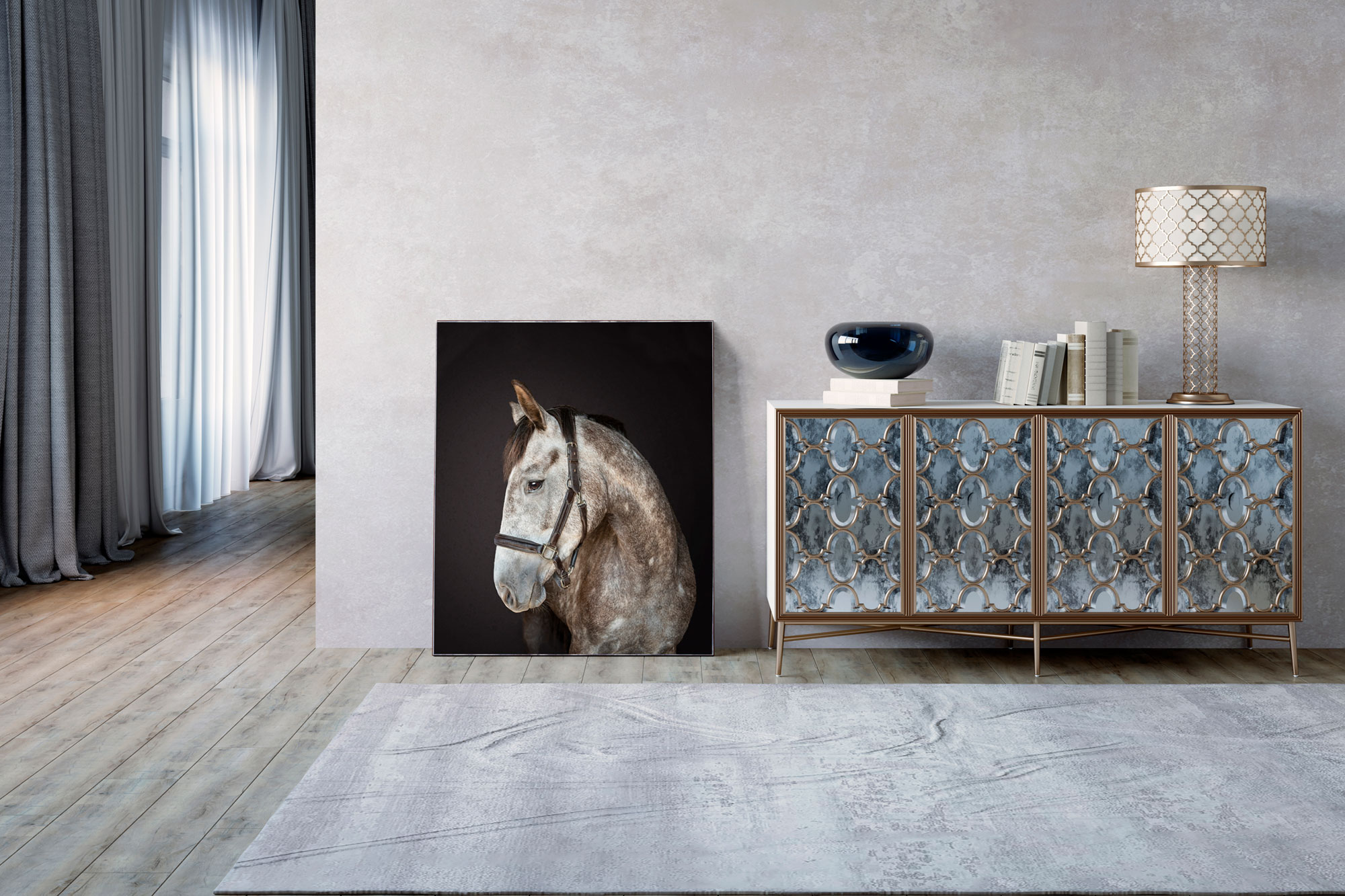 Stunningly beautiful equine portraits for your home