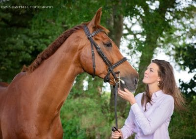 Equestrian photoshoot cumbria