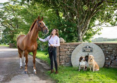 Cumbrian, equestrian photoshoot