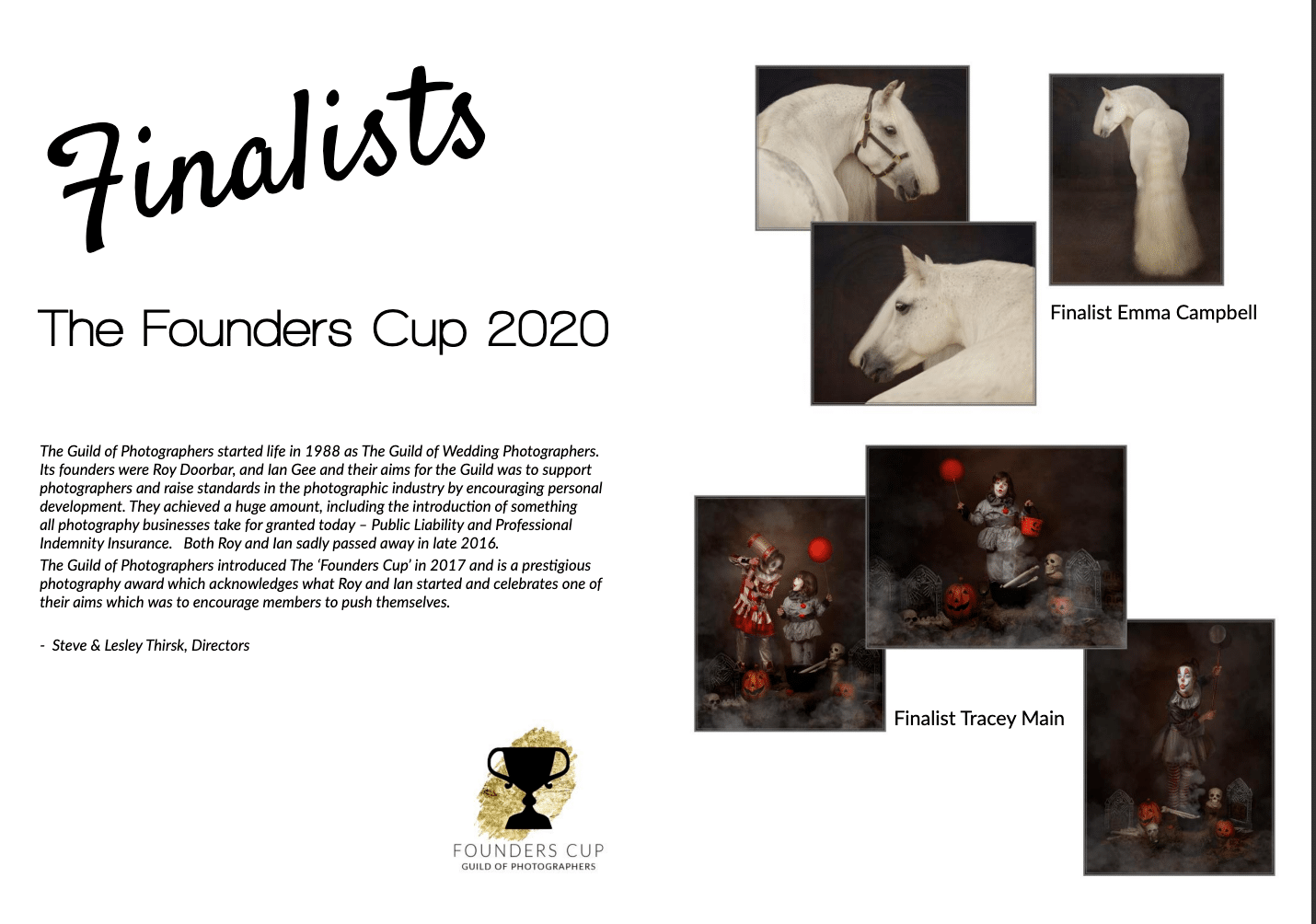 Founder's Cup finalist